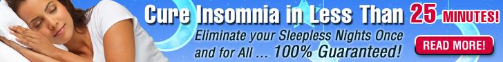 banner for insomnia prevention